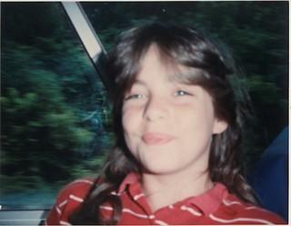 Kristie, circa 1985.   by kriskrabe