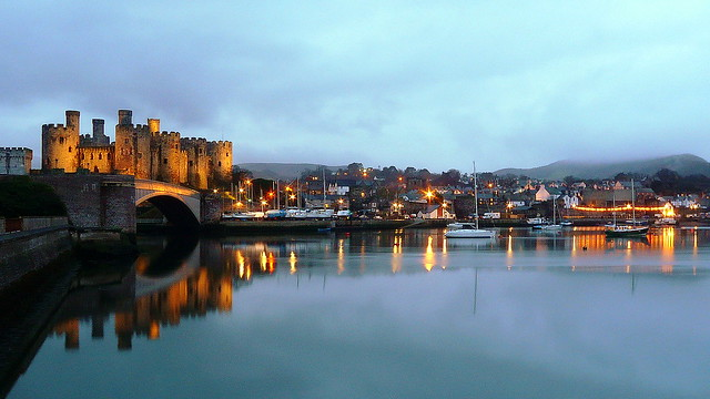 Conwy at dusk