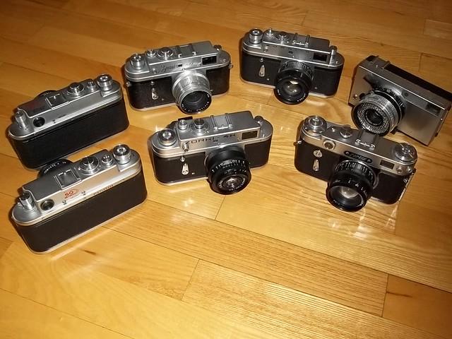Vintage Camera - Zorki Collection