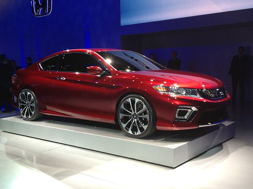 2013 Honda Accord Coupe Concept - Live from the 2012 Detroit Auto Show -  Jan 10, 9 47 28 AM Photo