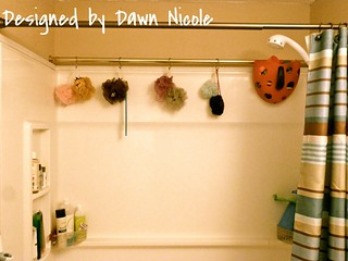 Simple Shower Organization Tip | by DesignedbyDawnNicole