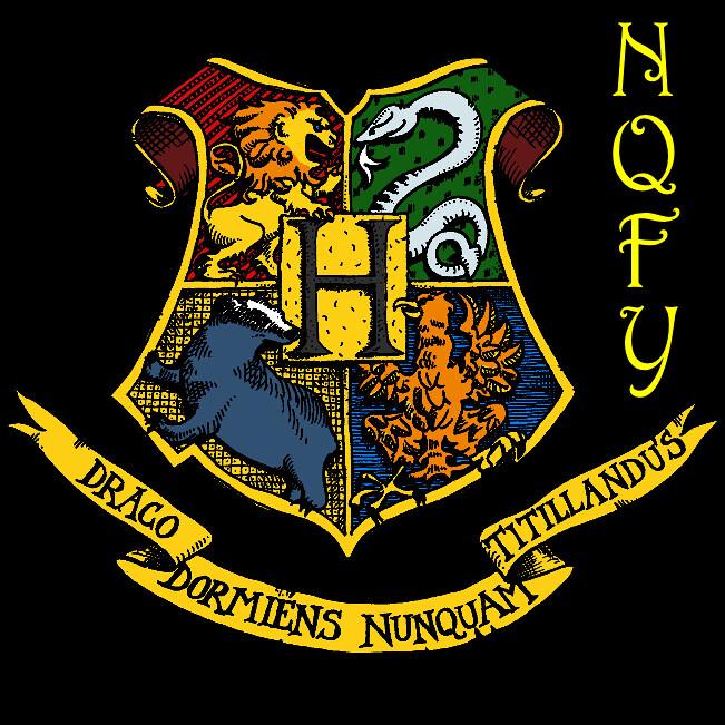 Hogwarts Crest Black Background Edit1 Chillywillyrawks Flickr