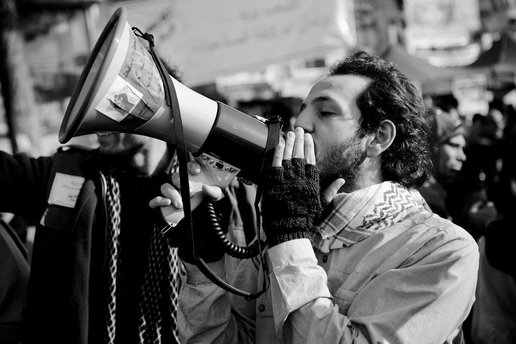 #RevSoc activists in Tahrir Square اشتراكيون ثوريون
