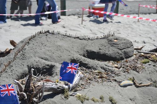 Inaugural New Zealand Sandcastle Competition