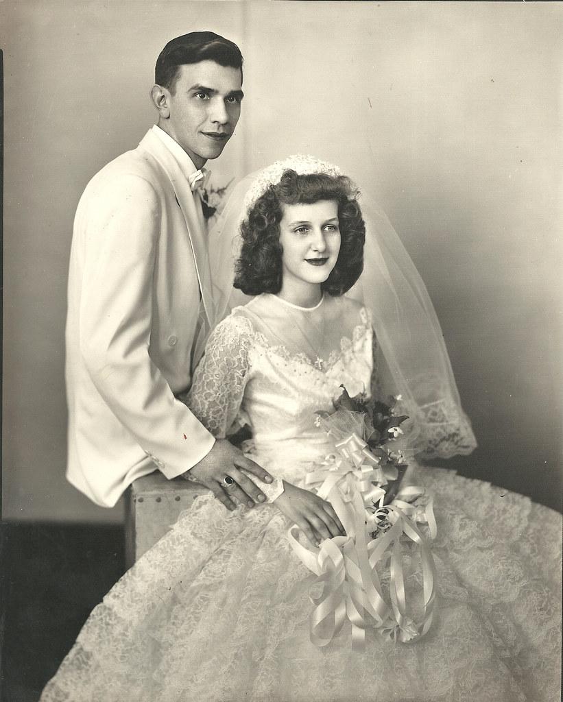 Identify Bridegroom: Detroit Wedding, C.1940s. Can Anyone Identify The