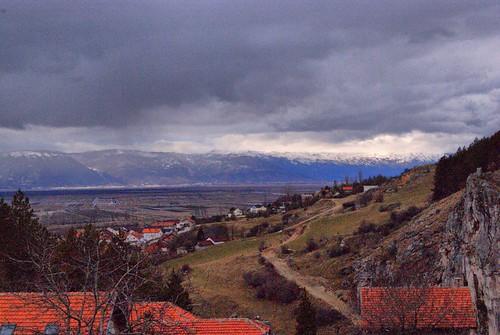 winter january villages lipa zima 24th 2012 livno bosnaihercegovina kamešnica fbih canton10 hbzupanija livanjskikanton priluka orguz cuklic tribic
