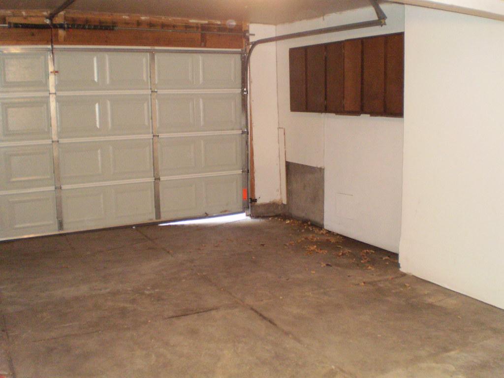 Garage Floor Amp Overhead Garage Door Gaps Concrete Repair