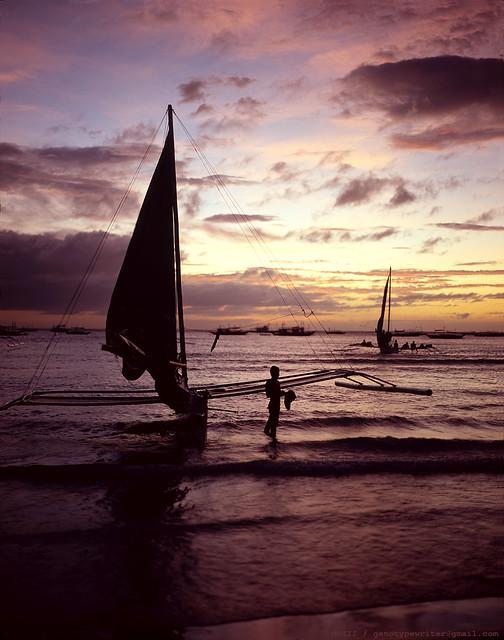 [Film 4x5] Boracay, Philippines