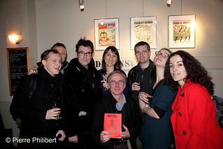 L'équipe Charlie Hebdo presque au complet !   by Emilie Leverrier