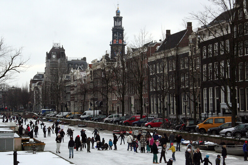 Amsterdam Ice - Keizersgracht Scene 1