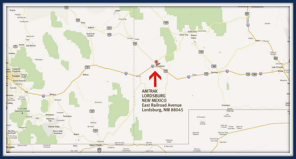 Lordsburg New Mexico | View Larger map | Loco Steve | Flickr on