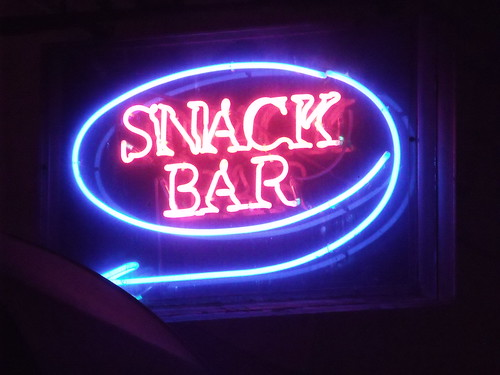 Snack Bar - Aldwych, London - Neon signs | by ell brown