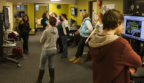 Professor Liz Lewis' Ed Psych students presentations