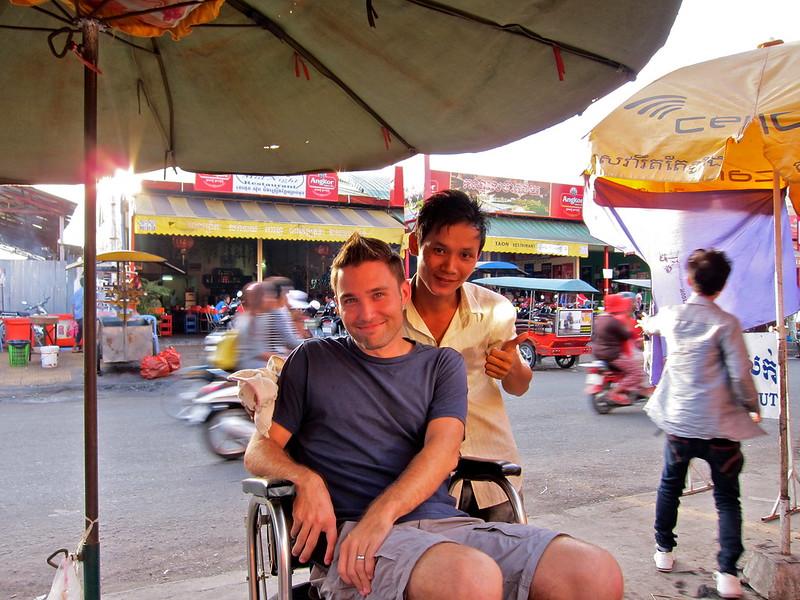 Haircut, Phnom Penh