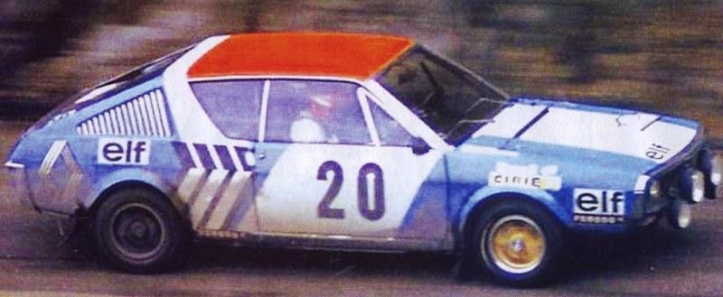 Renault 17 Gordini – Montecarlo 1975