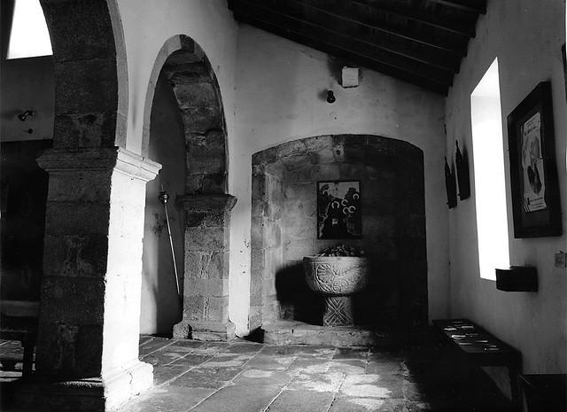Iglesia de Cervo, Lugo (papel)