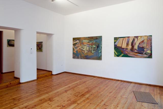 CUBIC WORLDS II, Galerie Michael Heufelder, München, 2011