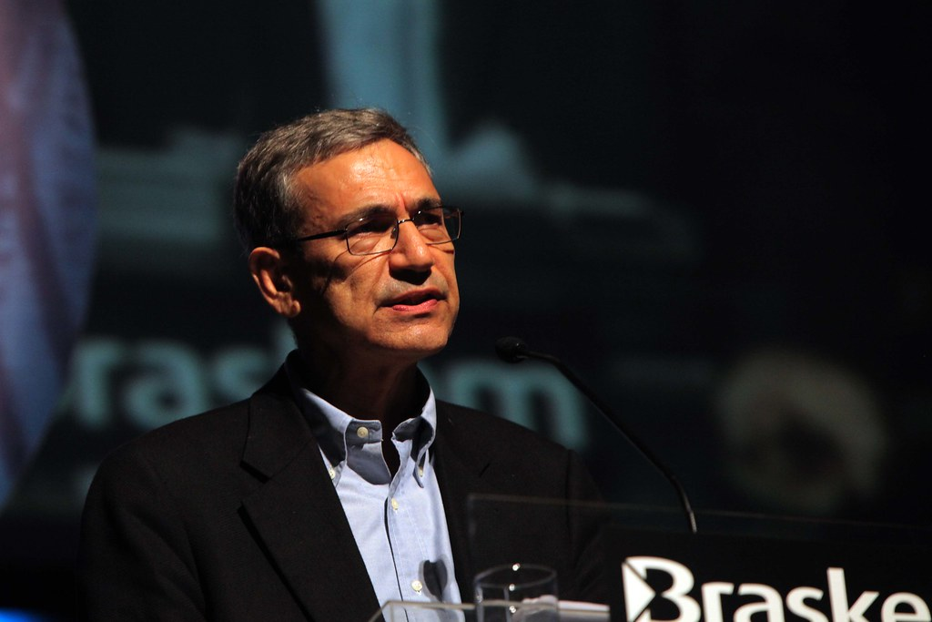 Orhan Pamuk no Fronteiras do Pensamento São Paulo 2011