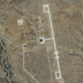 Spaceport America… from space! | by uıɐɾ ʞ ʇɐɯɐs