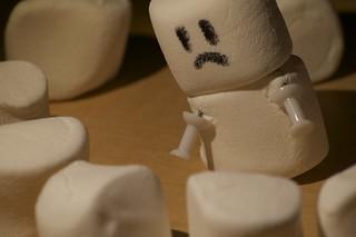 Sad Marshmallow | by Maryam Abdulghaffar مريم عبدالغفار