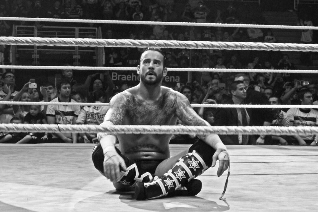 WWE CM Punk | WWE CM Punk in Scotland. The Best Wrestler in … | Flickr