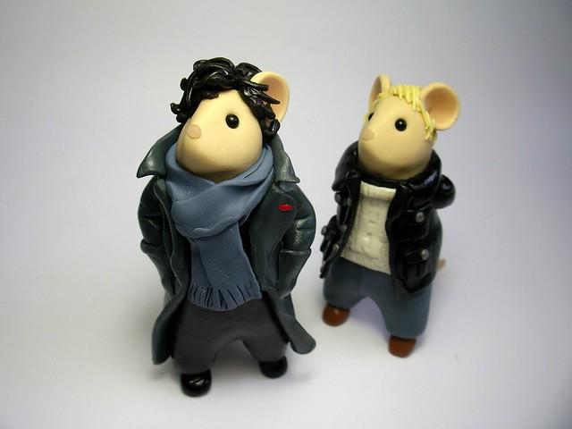 Sherlock and John Mice