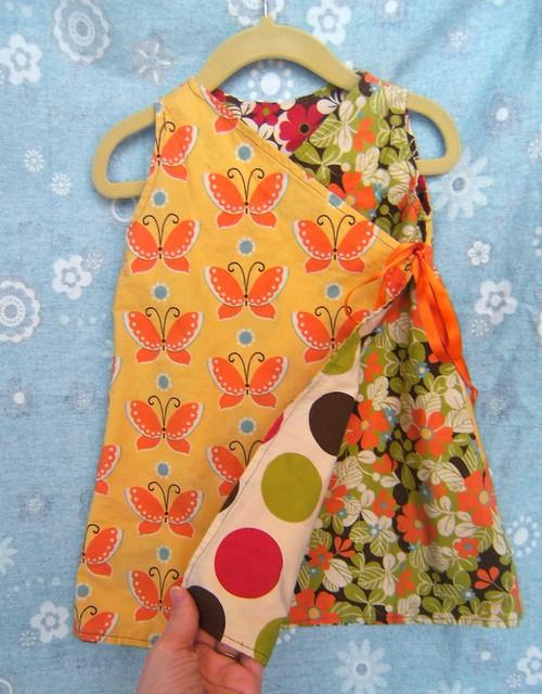 Reversible Kimono Dress--other side :)