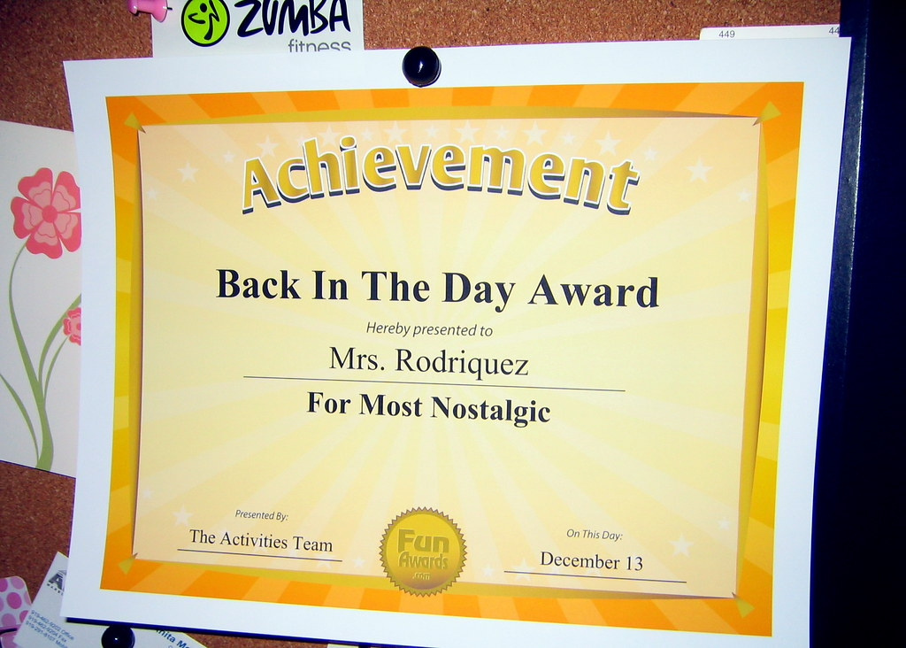 Funny Office Awards Ideas | From a recent office party award… | Flickr