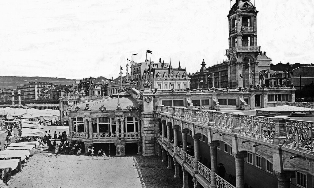 Balneario La Perla (San Sebastián, 191X) | Flickr - Photo Sharing!