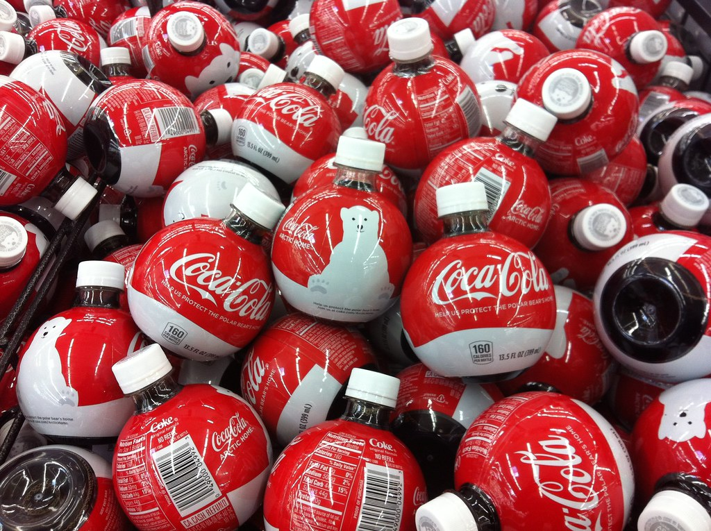 Coca-Cola 2011 Holiday Ornament bottle | Found at Wal-Mart