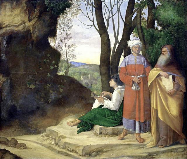 Giorgione - Die drei Philosophen