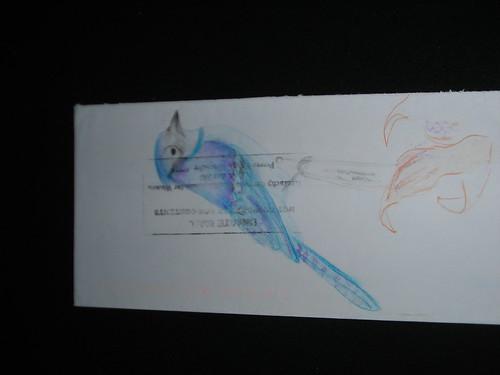Blue Jay, Prison art