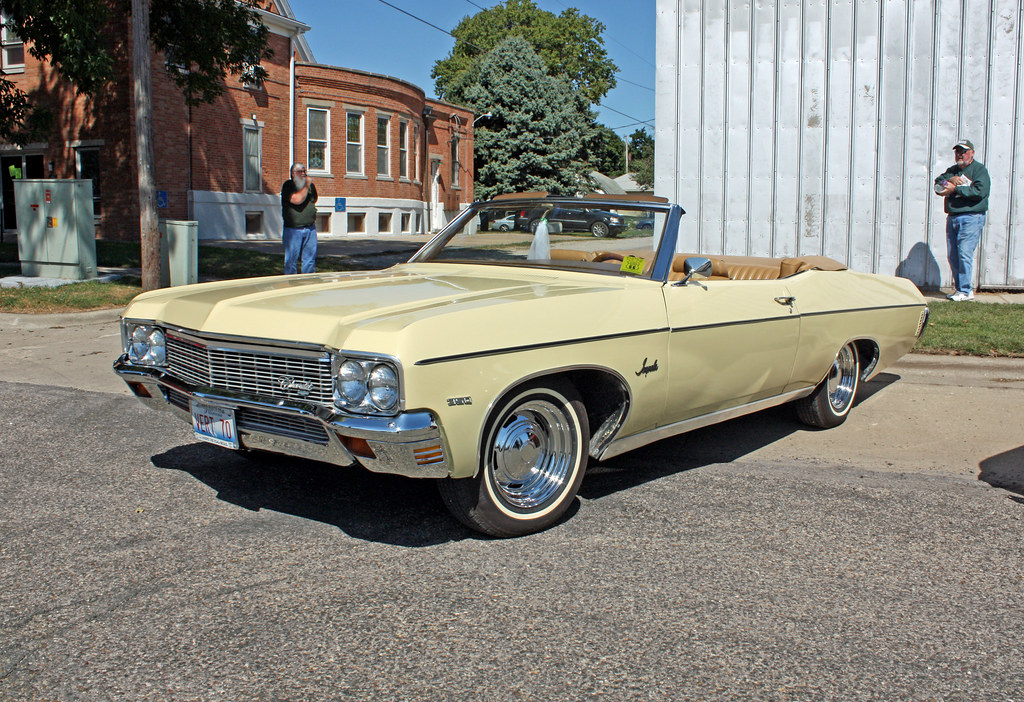 1970 Chevrolet Impala Convertible 2 Of 5 Photographed At