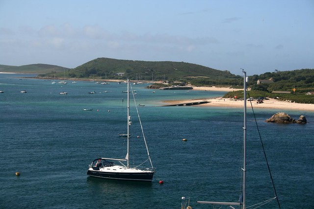 Bryher viewed from Tresco