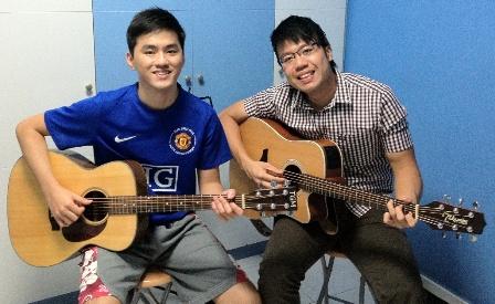 Guitar lessons Singapore Darrell