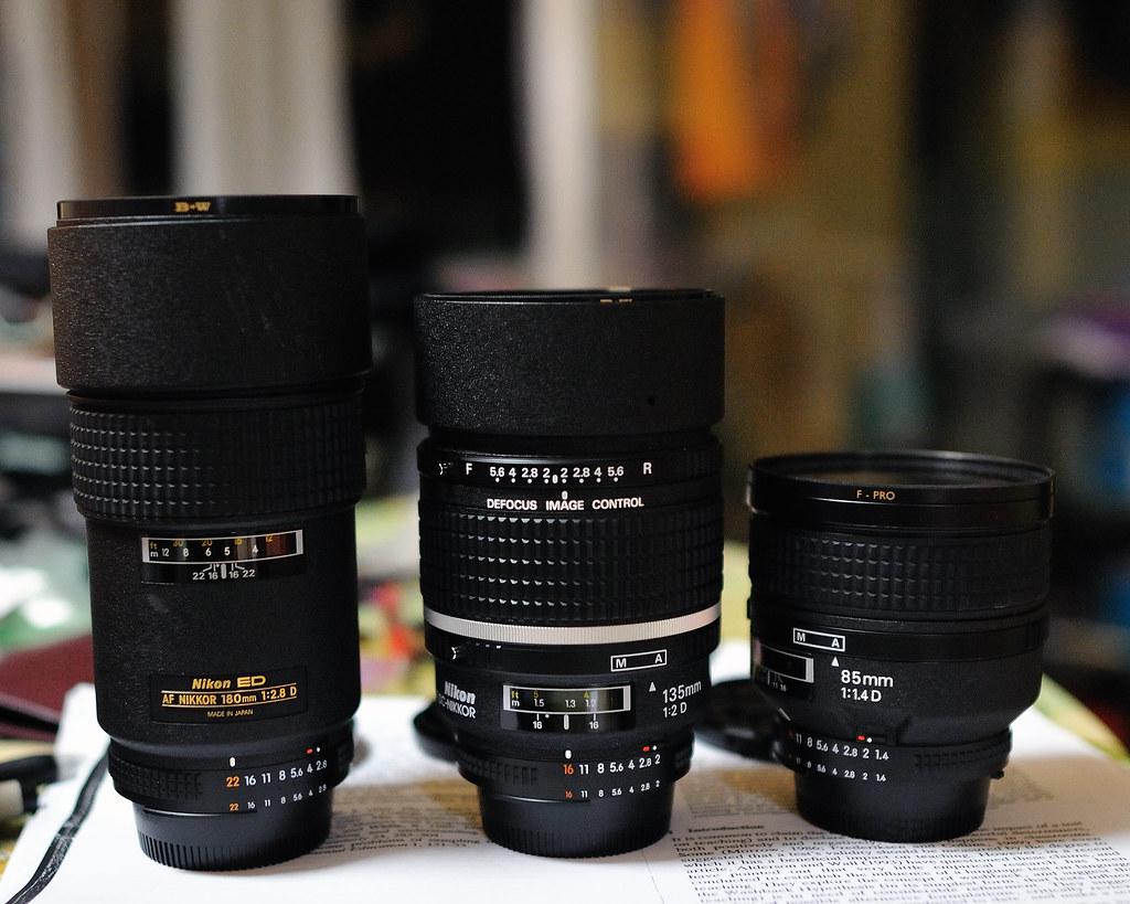 Nikon Portrait Lens Shootout: AF 180mm f/2 8D IF-ED vs AF