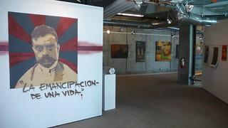 Primer paso exhibition view