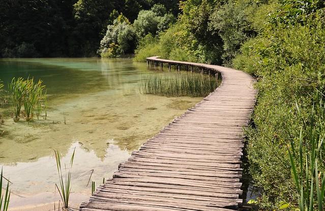 Lac à Plitvice 3