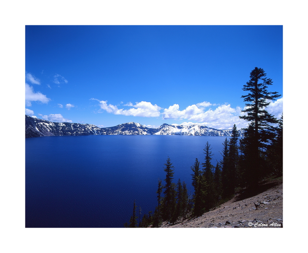Crater Lake Blue.