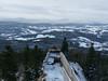 Výhled z Kašperka na šumavské kopce, foto: Petr Nejedlý