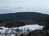Výhled na rozhlednu na Sedlu z Kašperka, foto: Petr Nejedlý