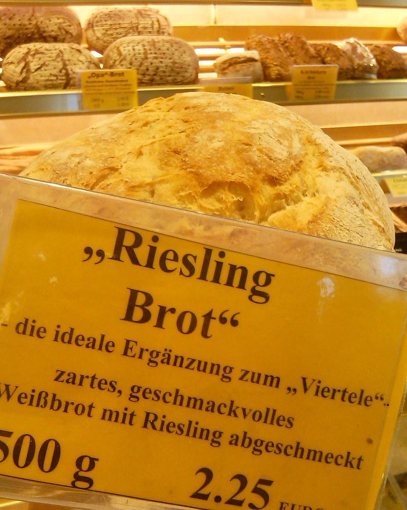#Riesling #Brot gesehen in der #Bäckerei #Gundel in #Heidelberg #fb