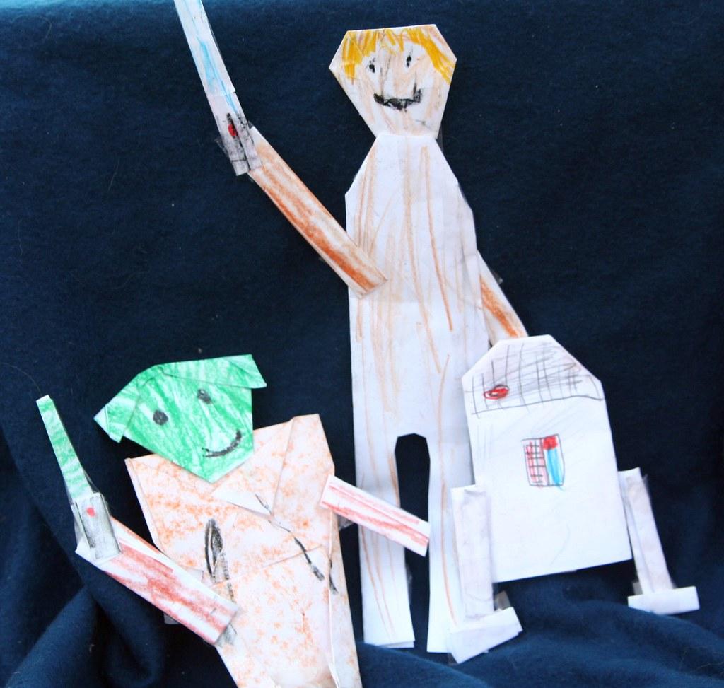 Origami Star Wars!!! - YouTube | 973x1024