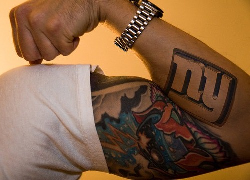New York Giants Tattoo Xclusivsauc3 Flickr