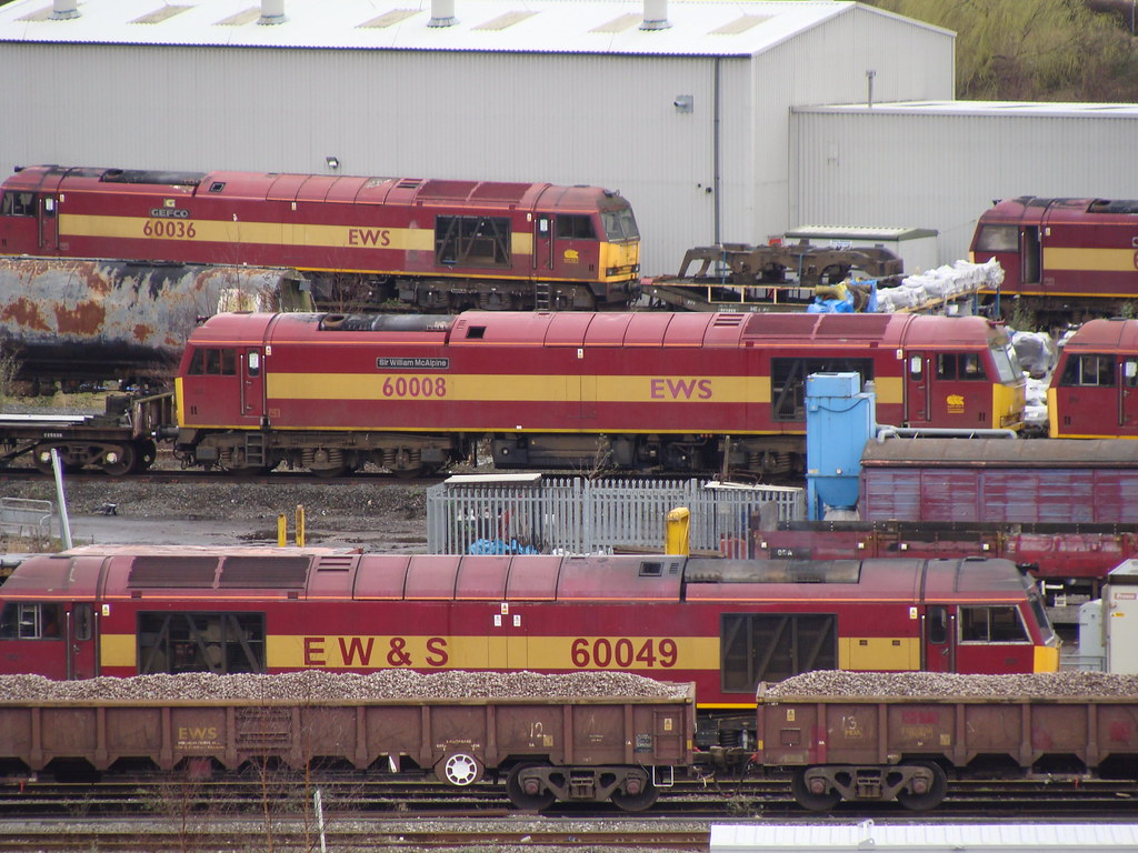 Db Schenker Toton Depot 60049 60008 60036 Will Swain
