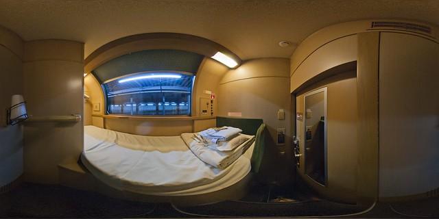 Capsule Hotel Train