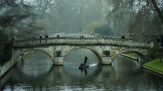 Clare College Bridge, Cambridge   by kBandara