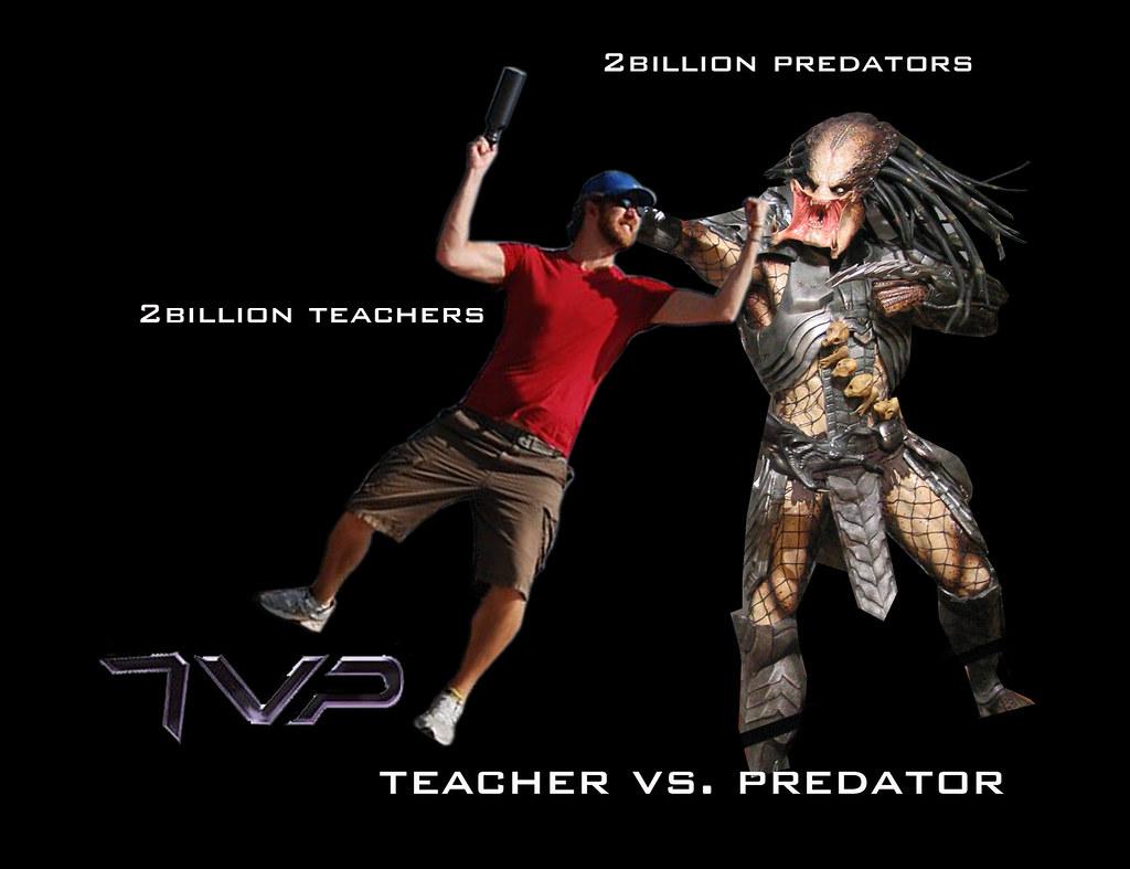 Teachers VS Predators | www slideshare net/shareski/whos-you… | Flickr