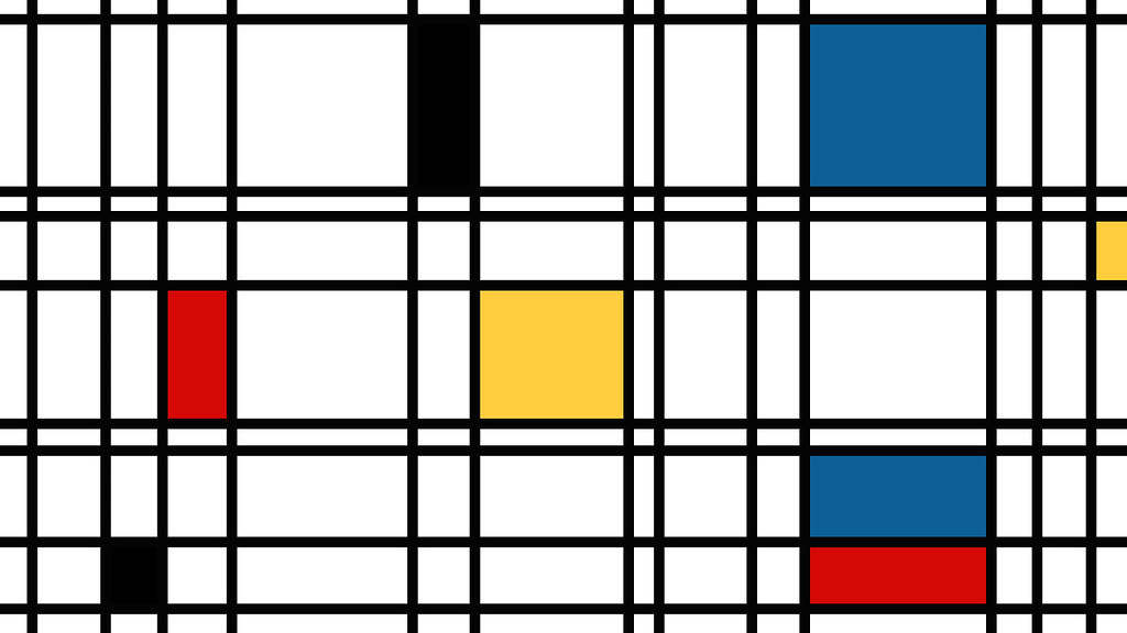 ... Piet Mondrian Desktop Wallpaper | by Jacob Drew Harris