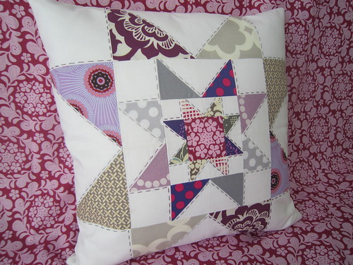Pillow Talk Swap 6   by Elena @ Hot Pink Stitches